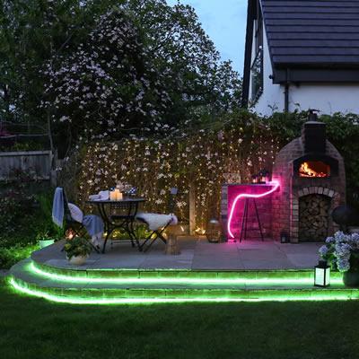 outdoor neon